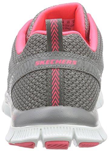 Skechers  Flex AppealArctic Chill, Sneakers Basses femme Gris - Grau (GYPK)