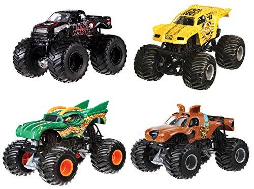 Hot Wheels - Monster Jam 1:24 Surtido/Modelos Aleatorios, 1 unidad (Mattel CBY61)