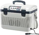 Xcase Mini Kühlschrank: Thermoelektrische Kühl-/Wärmebox, LED-Anzeige, 12/24 & 230 V, 19 Liter (Kühlboxen)