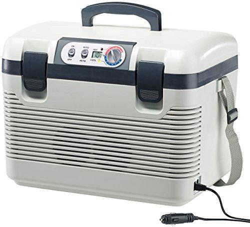Xcase 12V Kühlbox: Thermoelektrische Kühl-/Wärmebox, LED-Anzeige, 12/24 & 230 V, 19 Liter (Thermoelektrische Kühlbox)