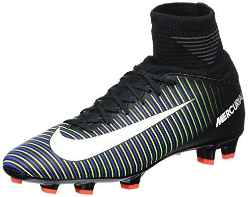 Nike 831943-013, Chaussures de Football Garçon Noir