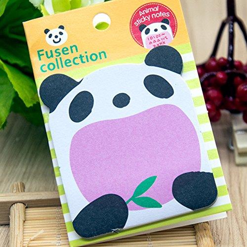 EMVANV creative Animal Cartoon animali cute Cartoon self-stick notes, As Picture Show, Panda