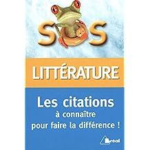 Citations littéraires