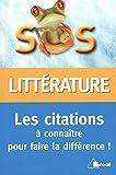 Telecharger Livres Citations litteraires (PDF,EPUB,MOBI) gratuits en Francaise