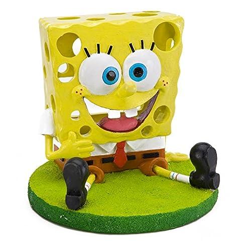 Penn Plax SpongeBob à Flotter Trou Objet d'Ornement pour Aquariophilie
