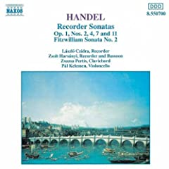 Recorder Sonata in F major Op. 1, No. 11, HWV 369: II. Allegro