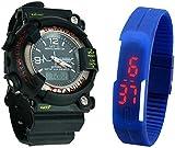Xeno Digital Black Dial Boy's Watch S-SH...