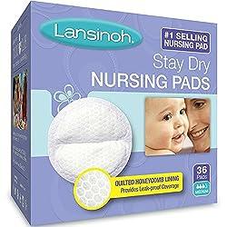 Lansinoh 20236 Disposable Nursing Pads, 36-pack (Pack of 2)