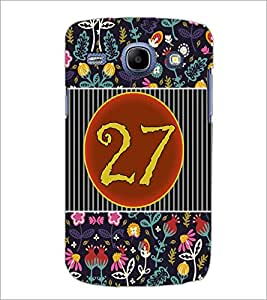 PrintDhaba Numerology Number 27 D-3116 Back Case Cover for SAMSUNG GALAXY MEGA 5.8 (Multi-Coloured)