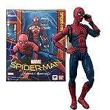 Fting Jouets Marvel Avengers - Spider-Man 15 cm, Super-héros - de la Ligue Marvel Avengers - Collection de Jouets d'anniversaire for Enfants Mobiles articulés Jouets