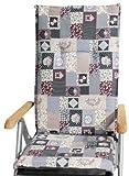 B & O M305 Baltimore HL cuscino con frontiera per la sedia dallo schienale alto 48 x 119 cm Spessore 5 cm