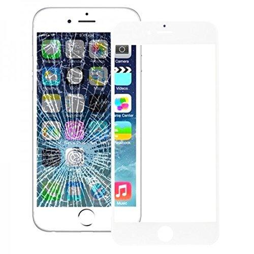 Wigento Austausch Displayglas Glas Ersatz Weß für Reparatur Apple iPhone 6S 6 S Plus 5.5 Zubehör Ersatzglas + Opening Tool Kit Werkzeug