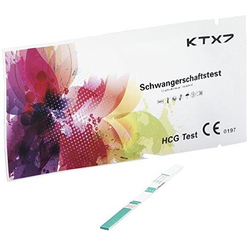 19x KTX7 Schwangerschaftstest Professional Line - Empfindlichkeit: 10mIU/ml - Teststreifenbreite 4mm