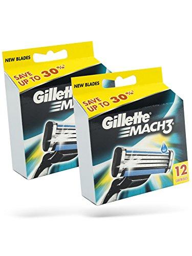 Gillette Mach 3 Rasierklingen 24 Stück in OVP