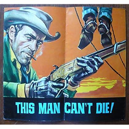 Dossier de presse de This man can't die ! (1967) - 31x34cm, 10 p – Film de Alberto Marucchi avec G Madison, L Bridou, Rik Battaglia, etc. – Photos– résumé scénario – Bon état.