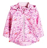 Esprit Baby - Mädchen Jacke Softshell, All Over Print, Gr. 92, Rosa (Pink Fuchsia 660)