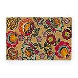 Montse Interiors, S.L. Felpudo/Alfombra Entrada de Casa Flores Colores (KAILAN, 40x60)
