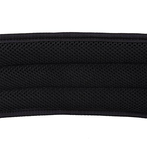 OneTigris Einstellbare militärischen taktischer Gürtel mit Abnehmbaren Dicken Pad, 1000D Nylon Schwarz