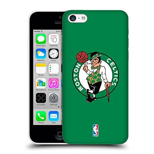 Ufficiale NBA Camouflage Digitale Boston Celtics Cover Retro Rigida per Apple iPhone 5 / 5s / SE Semplice