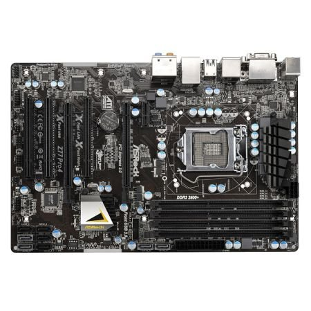 ASRock Z77 Pro4 Sockel 1155 Mainboard (ATX, DDR3, SATA III, USB 3.0) Bulkware