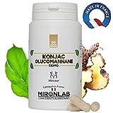 Konjac complément minceur 530mg / gélule | 95% de glucomannanes | 90 gélules...