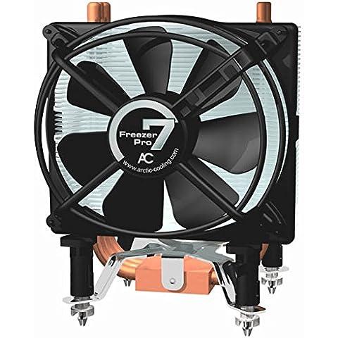 Arctic Cooling Freezer 7 Pro - Ventilador de PC (Socket T (LGA 775), 0.17° C/Watt, All Intel Core 2 Extreme / Core 2 Quad / Core 2 Duo All Intel Pentium Extreme / Pentium Dual-Core, Aluminio y cobre, 0,16A, 520g)