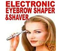 Bi Feather BEST Electronic Eyebrow Trimmer & Shaver ,Silver