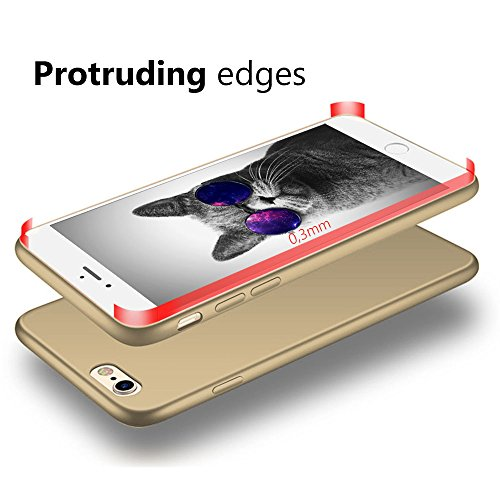 EGO® Luxury Case Slim pour le téléphone iPhone 5 / 5S / SE noir Matt Metallic Silikon Bumper coquille couverture Anti-empreintes satin non-slip arri?re Rouge