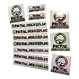 Metal Mulisha DE Sticker - Set - 13er Pack