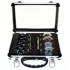 Set de 8 lames de scie en mallette pour mini scie circulaire Passat Passat MINISCIE01SET Diamètre: 50 mm