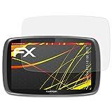 atFoliX Folie für Tomtom 610/6100 (2015) Displayschutzfolie - 3 x FX-Antireflex-HD hochauflösende entspiegelnde Schutzfolie