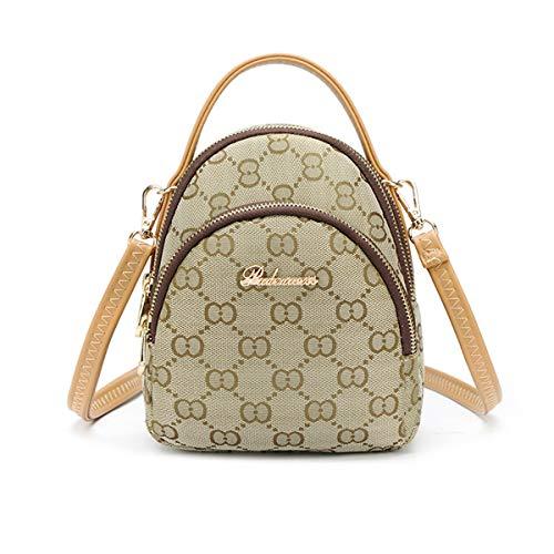 2019 Frühjahr neue weibliche Tasche Nähte Kontrastfarbe kleine quadratische Tasche weibliche Schultern wilde Hong Kong Stil Retro Messenger Bag (Messenger Bag Gucci)