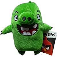 Angry Birds - 20cm Plüschtier - Grünes Schwein Leonard