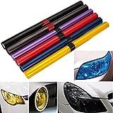 JenNiFer Auto Licht Abdeckung Auto Fahrzeug Schatten Rücklicht Scheinwerfer PVC Folie Film Abdeckung 16