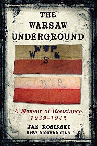 The Warsaw Underground: A Memoir of Resistance, 1939-1945 by Jan Rosinski (2013-10-18)