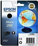 Epson Original T266 Tintenpatrone Globus, Singlepack schwarz