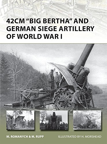42cm 'Big Bertha' and German Siege Artillery of World War I (New Vanguard)