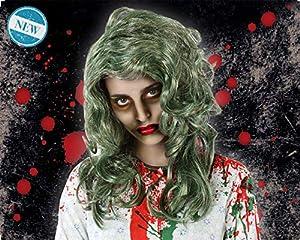 Atosa-Atosa-61044-Accesorio-Peluca negro Atosa-61044-Accesorio-Peluca Halloween Pelo Sucio, Color (61044)