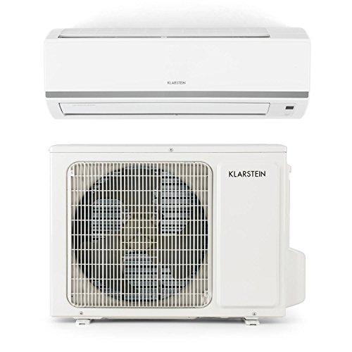 Klarstein Windwaker B 9 Inverter Split Klimaanlage Klimagerät (9000 BTU / 2,6 kW Kühlleistung, 2,8 kW Heizleistung, 5 Betriebsmodi, 2 Timer-Modi, Fernbedienung) weiß Test