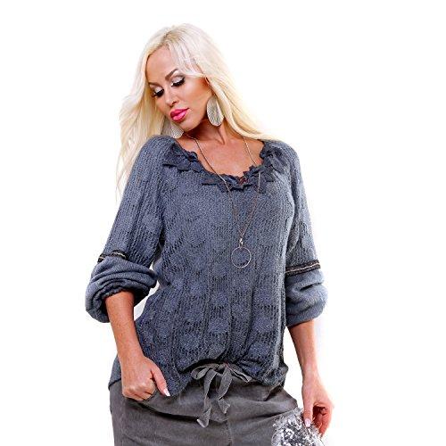 Fashion - Pull - Femme Bleu