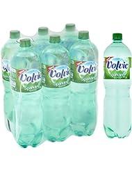 Volvic Sparkling Mineral Water, 6 x 1.5 L