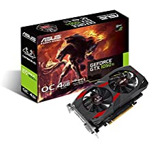 ASUS CERBERUS-GTX1050TI-O4G GeForce GTX 1050 Ti 4GB GDDR5 - Tarjeta gráfica (GeForce GTX 1050 Ti, 4 GB, GDDR5, 128 bit, 7680 x 4320 Pixeles, PCI Express 3.0)
