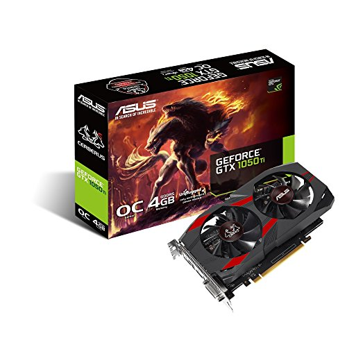 ASUS Cerberus GeForce GTX 1050 Ti 4 GB