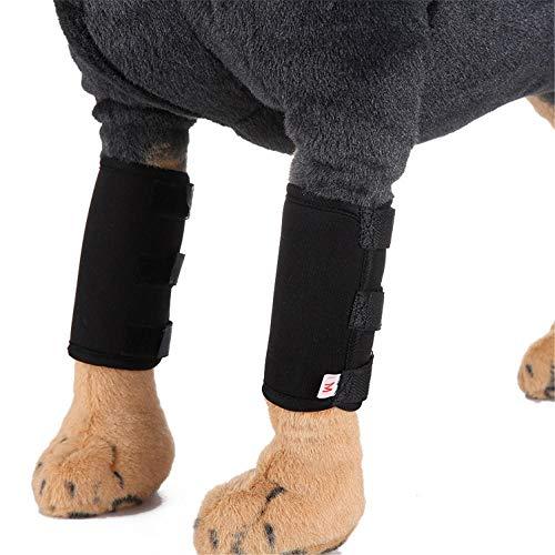 Yeslln Haustier Kostüm Hundekleider Hund Kostüm Kniepolster Hundelegging OP-Schutzhülle, - Schwarz Op Kostüm
