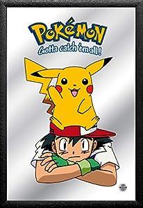 Close Up v829420Pokémon Espejo Ash & Pikachu