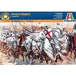 Italeri 6125S - Caballeros Templarios medievales ERA