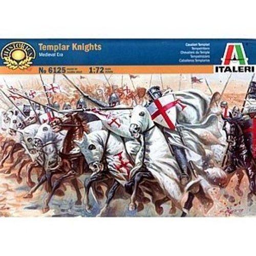 Italeri 6125 - medieval era: templar knights modellismo soldatini scala 1:72
