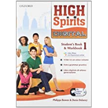 High spirits digital. Student's book-Workbook-Mydigitalbook 2.0. Per la Scuola media. Con CD-ROM. Con espansione online: