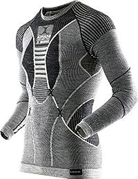 X-Bionic Herren Apani Merino by Fastflow Man Uw Lg_sl. Roundneck T-Shirt