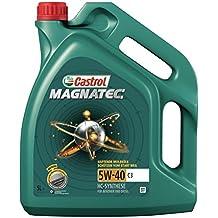 5 litro Castrol Magnatec 5W-40 C3 olio motore; specifico: API SN/CF; ACEA C3; MB 229.31; VW 502 00/505 00; BMW Longlife-04; Renault RN0700/0710; dexos2®; Meets Fiat 9.55535-S2